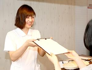 東大阪の整骨院 健康へのおもてなしグループの受付写真